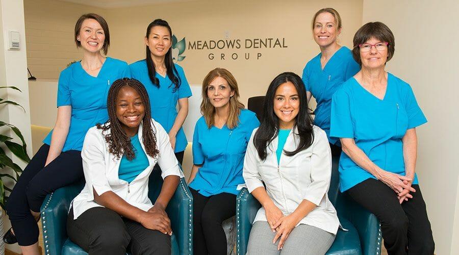 Meadows Dental Group Team